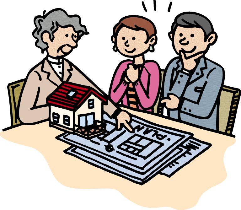家を建てる イラスト